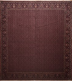 "Bidjar Red Hand Knotted 13'2"" X 14'8""  Area Rug 100-11291"