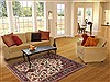 Qum Beige Hand Knotted 47 X 69  Area Rug 100-11294 Thumb 5
