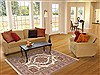 Tabriz White Hand Knotted 43 X 65  Area Rug 100-11302 Thumb 5