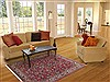 Sarouk Red Hand Knotted 47 X 72  Area Rug 100-11318 Thumb 5