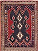 Sirjan Blue Hand Knotted 52 X 69  Area Rug 100-11320 Thumb 0