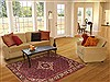 Hossein Abad Red Hand Knotted 50 X 610  Area Rug 100-11335 Thumb 5
