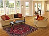 Qashqai Red Hand Knotted 52 X 80  Area Rug 100-11339 Thumb 4