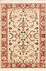 Tabriz White Hand Knotted 34 X 410  Area Rug 100-11351 Thumb 0