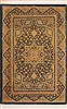 Qum Yellow Hand Knotted 33 X 49  Area Rug 100-11360 Thumb 0