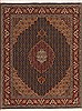Tabriz Green Hand Knotted 35 X 46  Area Rug 100-11364 Thumb 0