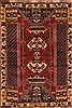 Gabbeh Red Hand Knotted 34 X 52  Area Rug 100-11378 Thumb 0