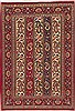 Qum Red Hand Knotted 34 X 410  Area Rug 100-11399 Thumb 0