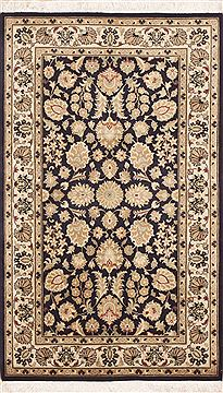 "Pak-Persian Beige Hand Knotted 3'0"" X 5'2""  Area Rug 100-11421"