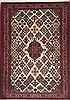 Maymeh Red Hand Knotted 38 X 53  Area Rug 100-11434 Thumb 0