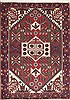 Hamedan Red Hand Knotted 36 X 50  Area Rug 100-11442 Thumb 0