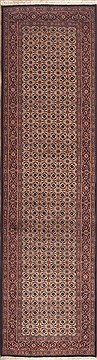 Persian Mood Red Runner 10 to 12 ft Wool Carpet 11452