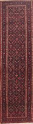 "Persian Hamedan Wool Red Runner Area Rug  (3'3"" x 13'0"") - 100-11461"