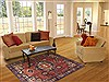 Nahavand Red Hand Knotted 48 X 68  Area Rug 100-11488 Thumb 5