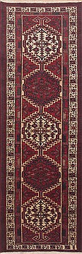 Persian Sarab Red Runner 10 to 12 ft Wool Carpet 11500