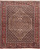 Sanandaj Brown Square Hand Knotted 41 X 41  Area Rug 100-11534 Thumb 0