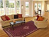 Hossein Abad Red Hand Knotted 67 X 911  Area Rug 100-11553 Thumb 4