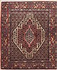 Sanandaj Red Hand Knotted 39 X 49  Area Rug 100-11564 Thumb 0