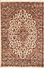 Pak-Persian Green Hand Knotted 40 X 62  Area Rug 100-11567 Thumb 0