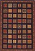 Gabbeh Multicolor Hand Knotted 42 X 60  Area Rug 100-11584 Thumb 0