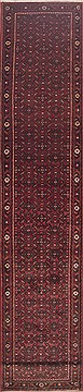 Persian Hossein Abad Red Runner 16 to 20 ft Wool Carpet 11605