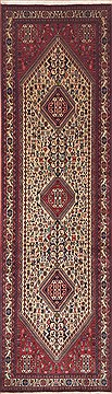 "Qashqai Red Runner Hand Knotted 2'9"" X 9'6""  Area Rug 100-11649"