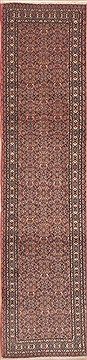"Persian Sarab  Wool Red Runner Area Rug  (2'6"" x 10'4"") - 100 - 11660"