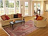 Sanandaj Red Hand Knotted 67 X 911  Area Rug 100-11696 Thumb 4