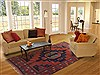Kazak Red Hand Knotted 70 X 99  Area Rug 100-11722 Thumb 4