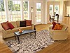 Modern Grey Hand Knotted 61 X 91  Area Rug 100-11744 Thumb 4