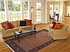 Ardebil Brown Hand Knotted 68 X 97  Area Rug 100-11763 Thumb 4