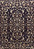Kerman Blue Hand Knotted 73 X 103  Area Rug 100-11765 Thumb 0