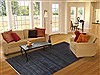 Gabbeh Blue Hand Knotted 73 X 100  Area Rug 100-11766 Thumb 4