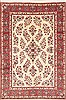 Yazd Beige Hand Knotted 65 X 97  Area Rug 100-11771 Thumb 0