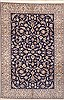 Nain Blue Hand Knotted 69 X 100  Area Rug 100-11778 Thumb 0