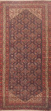 Persian Malayer Red Rectangle Odd Size Wool Carpet 11800