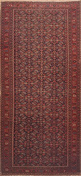 Persian Malayer Red Rectangle Odd Size Wool Carpet 11812