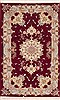 Tabriz Red Hand Knotted 25 X 311  Area Rug 100-11818 Thumb 0