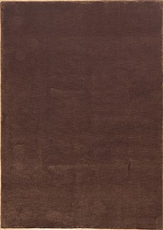 Indian Indo-Tibetan Brown Rectangle 6x9 ft Wool Carpet 11832