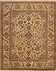 Indo-Tibetan Green Hand Knotted 66 X 80  Area Rug 100-11836 Thumb 0
