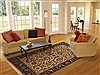 Jaipur Brown Hand Knotted 61 X 92  Area Rug 100-11861 Thumb 4