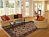 Jaipur Brown Hand Knotted 60 X 90  Area Rug 100-11863 Thumb 4