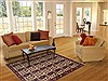 Shahre Babak Beige Hand Knotted 41 X 60  Area Rug 100-11880 Thumb 5