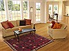 Sirjan Red Hand Knotted 50 X 78  Area Rug 100-11886 Thumb 4