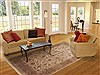 Jaipur Beige Hand Knotted 80 X 911  Area Rug 100-11890 Thumb 4