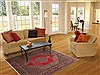 Sanandaj Green Hand Knotted 55 X 711  Area Rug 100-11913 Thumb 4