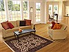 Jaipur Green Hand Knotted 50 X 70  Area Rug 100-11919 Thumb 11