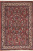 Sarouk Red Hand Knotted 48 X 611  Area Rug 100-11928 Thumb 0