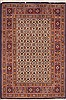 Mood Beige Hand Knotted 27 X 40  Area Rug 100-11938 Thumb 0