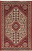 Abadeh Red Hand Knotted 20 X 32  Area Rug 100-11965 Thumb 0